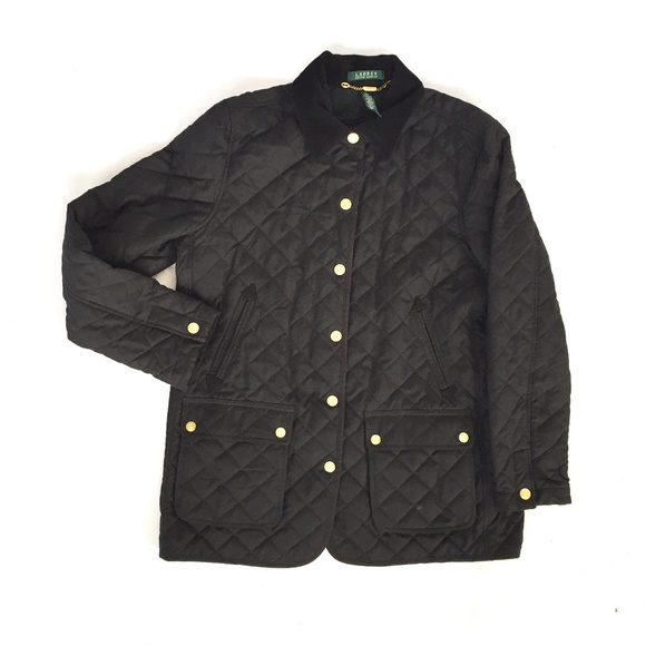 Ralph Lauren Jackets & Blazers - Ralph Lauren black quilted jacket Large